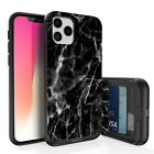 Slim Wallet Card Holder Case Hybrid Impact Cover for Apple iPhone 11