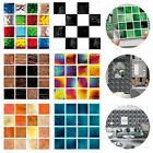 30pc Kitchen Tile Stickers Bathroom Mosaic Sticker Self-adhesive Wall Tile Decor
