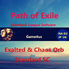 Path of Exile Item POE Exalted Orb  Chaos Orb Standard League Softcore SC Items