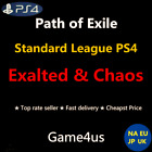 Path of Exile Currency POE Exalted  Chaos Orb Standard League PS4 Item Cheap EX