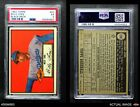 1952 Topps #20 Billy Loes Dodgers PSA 5 - EX