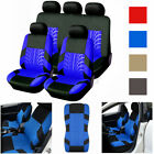 Universal Full Set 5 Head Car Front Rear Seat Covers Bench Cushion Protectors $31.79 USD on eBay