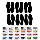12 Shoe Foot Print Decal Sticker for Home Car Window Wall Floor Shore Decor Art