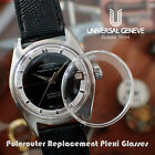 Brand New & Sealed Plexi Glass For Universal Geneve UG Polerouter Vintage Watch