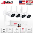 ANRAN 1080P WiFi Camera Security System Outdoor CCTV 7'Monitor 1TB Home Wireless