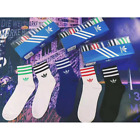 5 Pairs Unisex Crew Socks Football Sports Boys Girls Stylish Cotton Low Cut Sock
