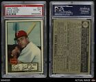 1952 Topps #47 Willie Jones Phillies PSA 6 - EX/MT