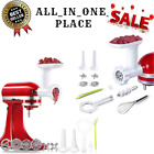 Antree Meat Grinder Attachment fits for KitchenAid Stand Mixer- Food Grinder ;)