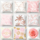 """18''x18"""" Nordic Pink Pillow Cases Polyester Throw Cushion Cover Sofa Home Decor"""