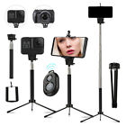 Wireless Bluetooth Selfie Stick Extendable Universal Phone Camera Tripod Remote