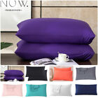 Queen King Size Envelope Closure Pillowcase Pillow Case Cover Brushed Microfiber image