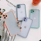 F Iphone 11 Pro Max Xr 7 8 Plus Se 2nd Xs Max Case Clear Matte Shockproof Cover