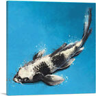 ARTCANVAS Utsurimono Koi Carp Fish Japan China Asia Canvas Art Print
