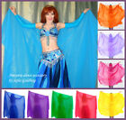 Ameynra Belly Dance Skirt Yellow-Red-Orange Chiffon for Fire Costume All Sizes