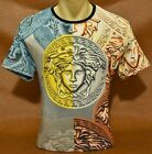 Summer'20 Brand New With Tags MEN'S VERSACE Slim Fit T-SHIRT Size M-L-XL-2XL image