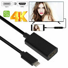 USB-C Type C to HDMI 4K HDTV TV Cable Adapter For Android Samsung LG Phones