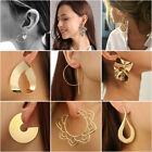 2020 Gold Statement Earrings For Women Alloy Trendy Luxury Fashion Jewlery Gifts