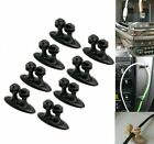 8pcs Car Wire Holder Tie Fixer Cable Organizer Usb Auto Charger Line Clasp Clamp