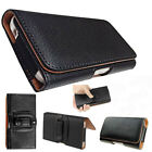 Universal NEW PU Leather Flip Belt Clip Holster Case Cover For  Mobile Phones