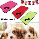 Waterproof Warm Dog Bed Pet Kennel Cushion Mat Crate Cage Pad Large House UK