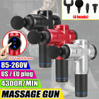 6 Speed LCD Massage Therapy Gun Percussion Massager Deep Tissue Muscle Vibrating