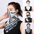 Face Mouth Cover Neck Gaiter Outdoor Scarf UV Protection Shawl Veil Headwear