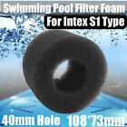 Reusable Foam Hot Tub Filter Cartridge Pure Spa Pool Black For Intex S1