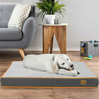 Waterproof Dog Bed Supportive Pet Calming Bed Mat for Arthritis Hip Pain Relief