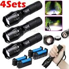 Kyпить Tactical 350000LM T6 LED Flashlight Ultra Bright Zoomable 18650 Torch Light Lamp на еВаy.соm
