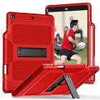 "Hybrid Rugged Stand Case with Pencil Holder For Apple iPad 7th Gen 10.2"" 2019"