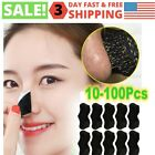 10-100x Blackhead Remover Peel Off Mask Sticker Black Nose Pore Cleansing Strips