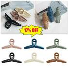 Women Lady Plastic Multi-colors Large Claw Hair Clip Hair Crab Hairgrip Hairpins