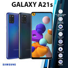 (unlocked) Samsung Galaxy A21s Black Blue 6gb+64gb Quad Cam Android Mobile Phone