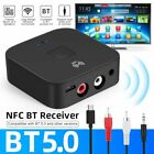 Bluetooth 5.0 Wireless NFC USB Stereo Receiver Audio Music RCA Speaker Adapter