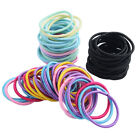 100PCS HAIR TIES CUTE ELASTIC ROPE HAIR BANDS PONYTAIL HOLDER FOR GIRLS KIDS E7