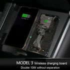 Upgraded For Tesla Model 3 Wireless Charger Dual Qi Wireless Phone Charger