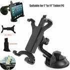 "Universal Car Windshield Suction Mount Holder Bracket For Ipad Galaxy Etc 7""-11"""