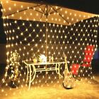 LED String Fairy Net Lights Outdoor Garden Window Christmas Bedroom Decorations