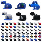 Внешний вид - Fashion Embroidered MLB LBaseball Teams Logo Adjustable Snapback Cap Sport Hat