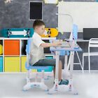 Kyпить Student With Tilted Desktop Drawer Height Adjustable Study Desk And Chair Set на еВаy.соm