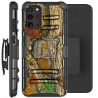 Holster Case For Galaxy Note20/ Note 20 Ultra 5G Phone Cover - MAPLE LEAF CAMO