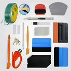 Car Wrap Applicator Kit Vinyl Wrapping Carbon Fiber Squeegee Graphic Tape Tools