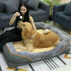 Jumbo Memory Foam Dog Bed Orthopedic Pet Bed Couch Warm Sofa & Removable Cover
