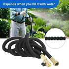 Garden Telescopic Hose Rubber Watering Collapsible Hose With Universal Connector