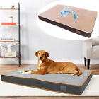 Orthopedic Dog Bed Pet Lounger Deluxe Cushion for Crate Foam Soft Surface L- XXL