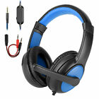 Gaming Headset Wired Mic LED Headphones Stereo Bass Surround For PC Xbox One PS5