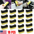 6/12/18X Tire Contour Dressing Applicator Pads Gloss Shine Polishing Foam Sponge