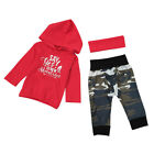Kids Baby Boy Girl Christmas Jumpsuit Romper Long Sleeve Xmas Clothes Outfit Set