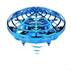 UFO Mini Drone Quad Induction Levitation Hand Operated Helicopter Toy Red / Blue