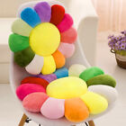 "16"" 20"" 24"" Rainbow Flower Cushion Soft Seat Pad Sofa Chair Pillows Home Decor"